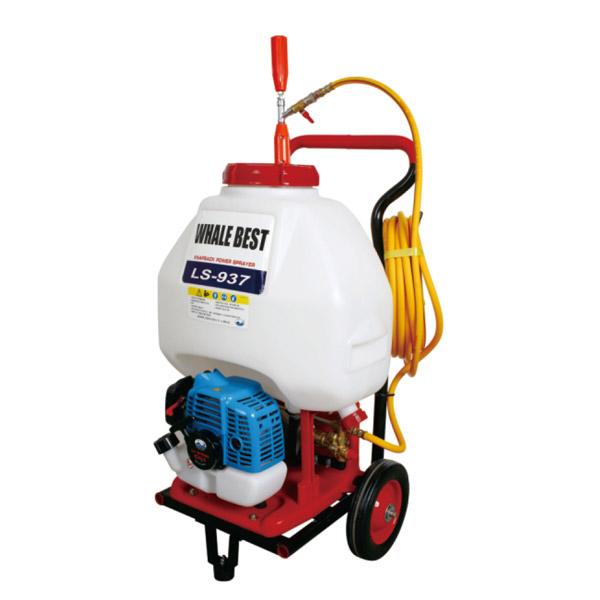 High performance hand - pull power spray disinfector