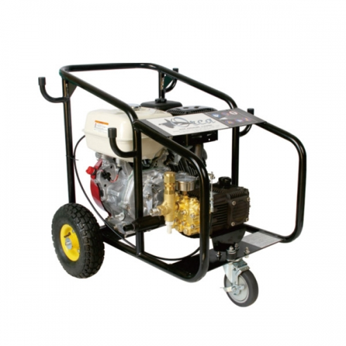 Maximum pressure high pressure cleaning machine