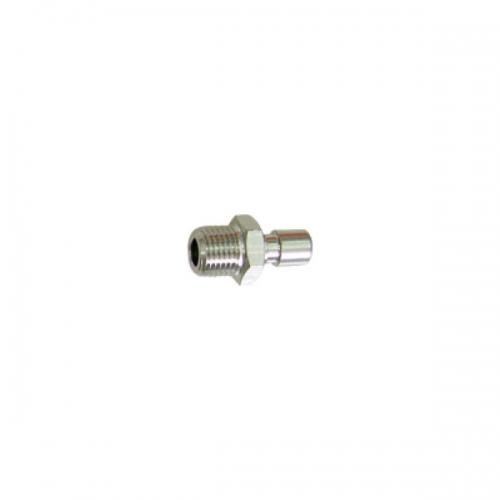 White iron pipe plug