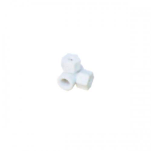 Plastic twin nozzle
